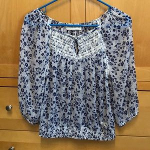 Adorable Sheer Abercrombie Blouse